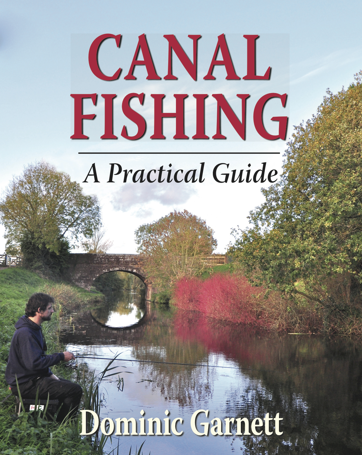 Canal fishing book hardback angling collectibledg fishing for Book with fish on cover