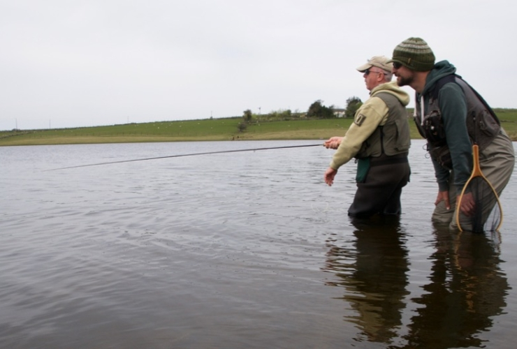 Guided fly fishing Cornwall