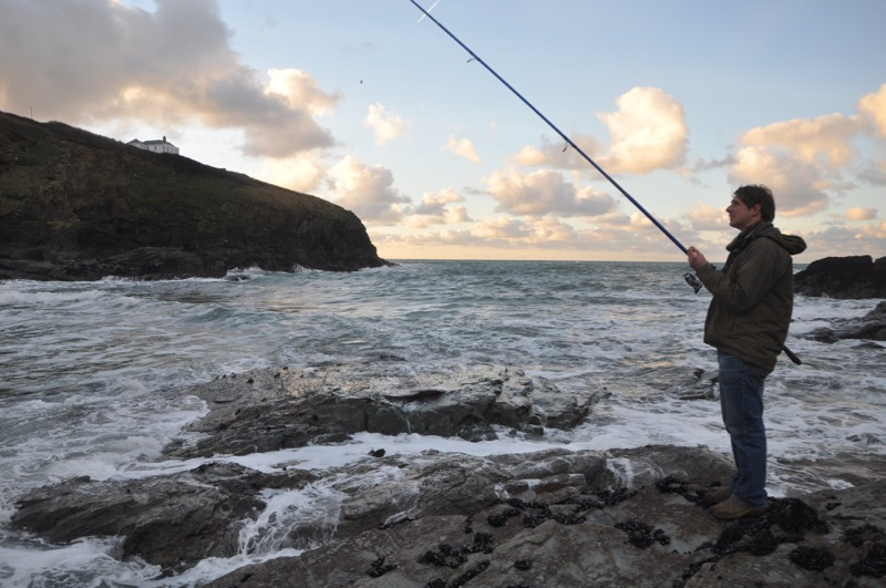 Sea fishing Cornwall