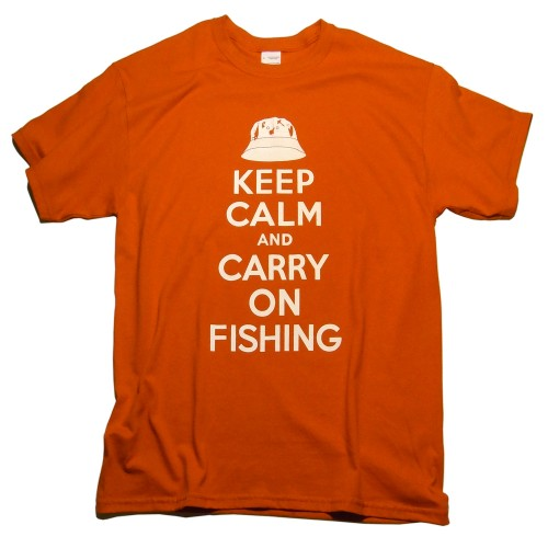 Keep Calm Fishing T-shirt