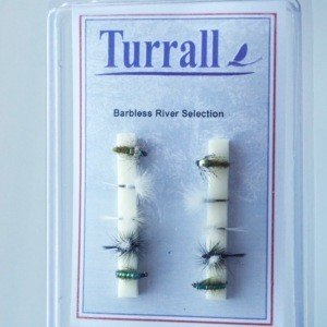 Barbless River Flies by Turrall