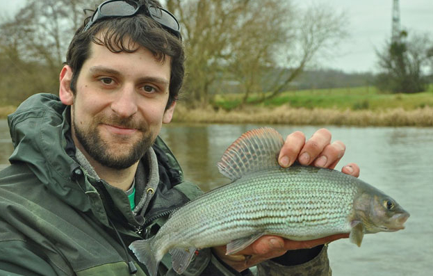 River Itchen fly fishing for grayling