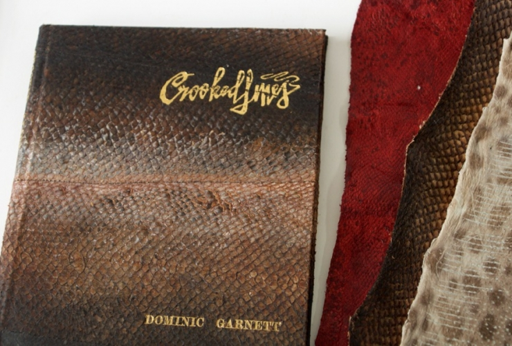 Crooked Lines Fish Skin Leather Special Collectors Edition