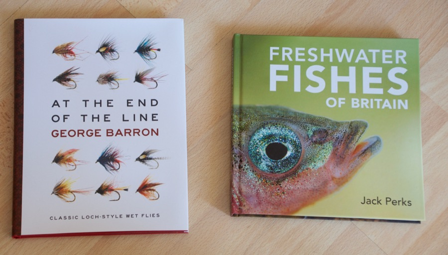 At the End of the Line George Baron fly fishing book