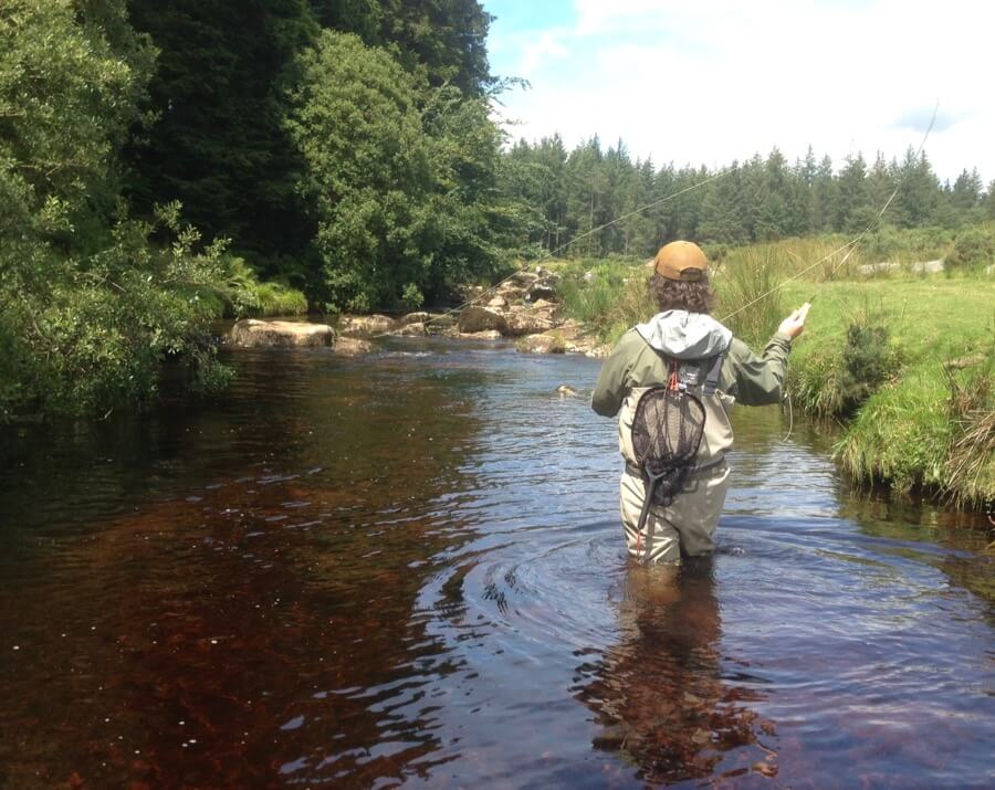 Bellever Dartmoor fly fishing