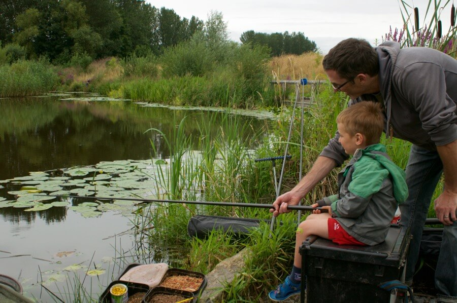 Coarse fishing lessons National fishing month Devon UK