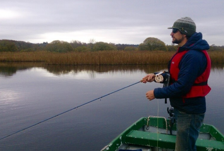 Fly fishing for pike Ireland