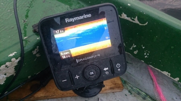 Fishfinder pike fishing