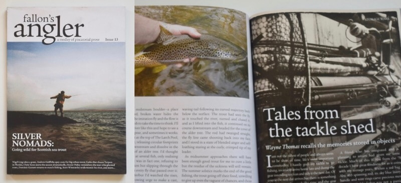 Fallons Angler Issue 13 review Chris Yates