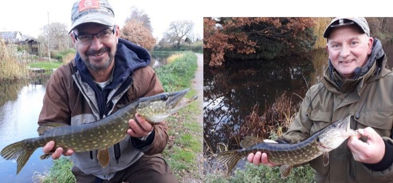 Simon Jefferies Gary Pearson fly fishing for pike