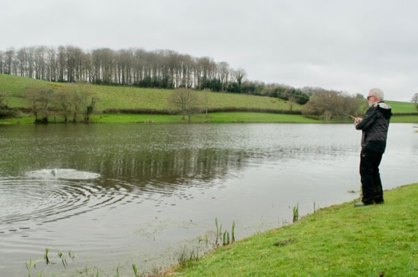 fly fishing hawkridge reservoir somerset guiding