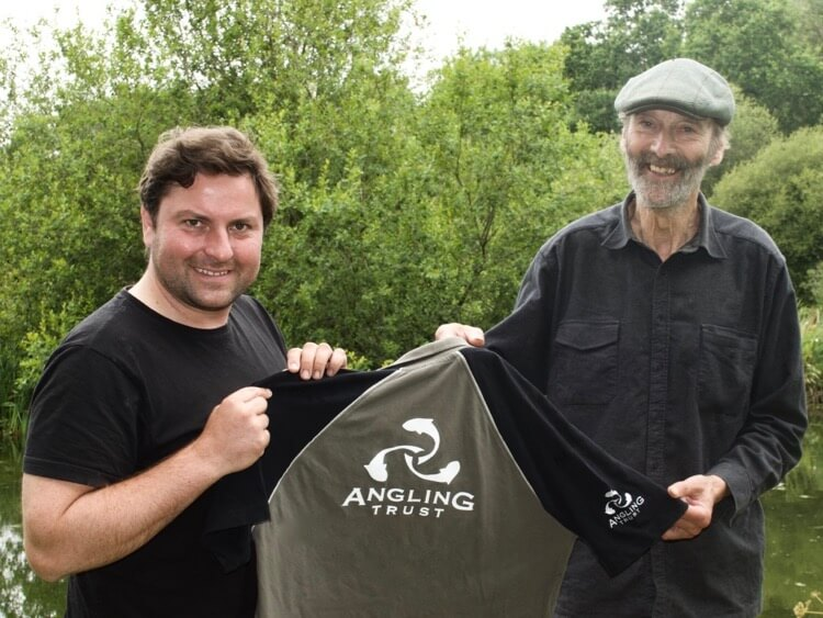 Jamie Cook Angling Trust boss Chris Yates