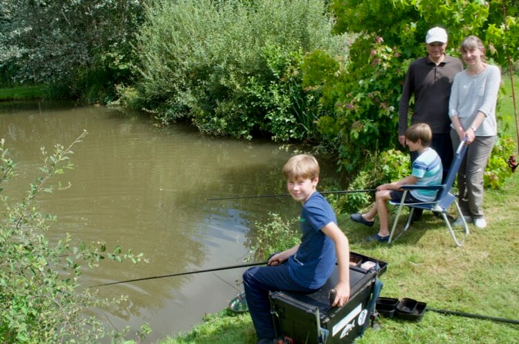 Fishing lessons for kids Devon Honiton Culompton Exeter