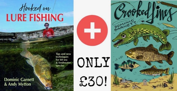 Fishing books sale gift offer