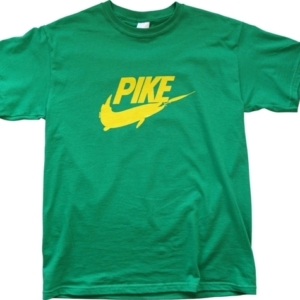 Pike Fishing T shirt Angling Gift