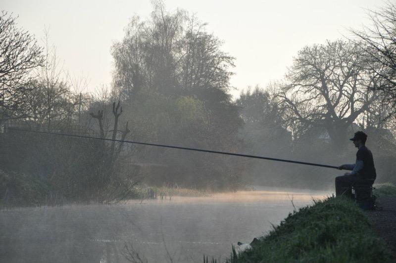 Canal fishing Devon
