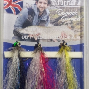 Fast sinking pike flies