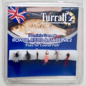 Flies for roach and rudd flyfishing Dom Garnett