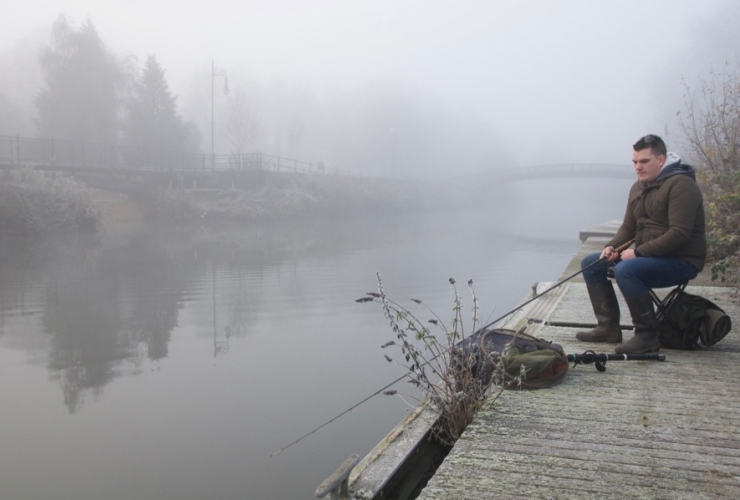 Free fishing river Tone