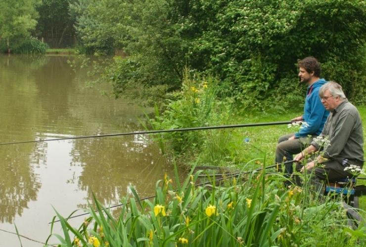 Goodiford Mill fishing Devon coarse silver pond