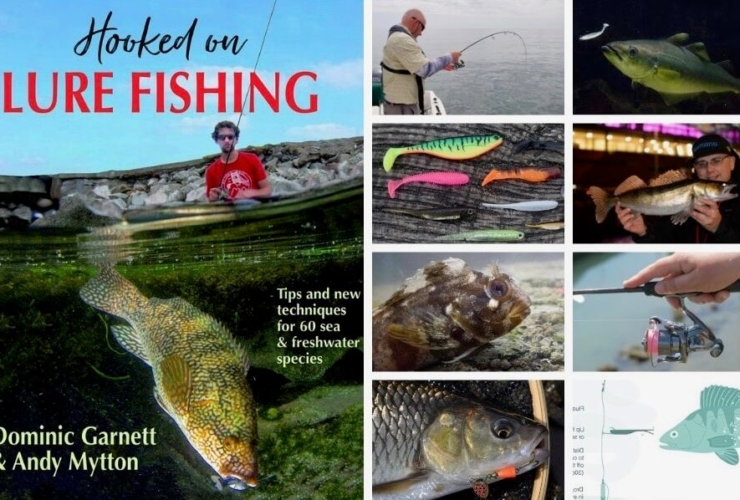 Hooked on Lure Fishing book Dominic Garnett