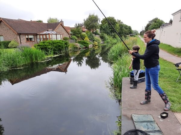Fishing lessons for kids Somerset