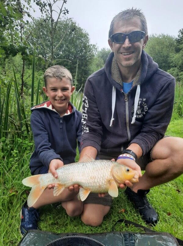 Fishing lessons Anglers Paradise Devon