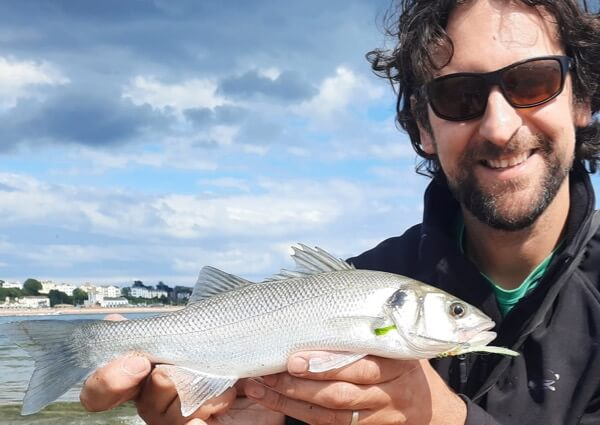 fly fishing for bass Devon