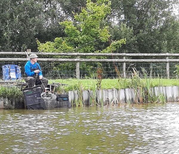 Match fishing in Devon
