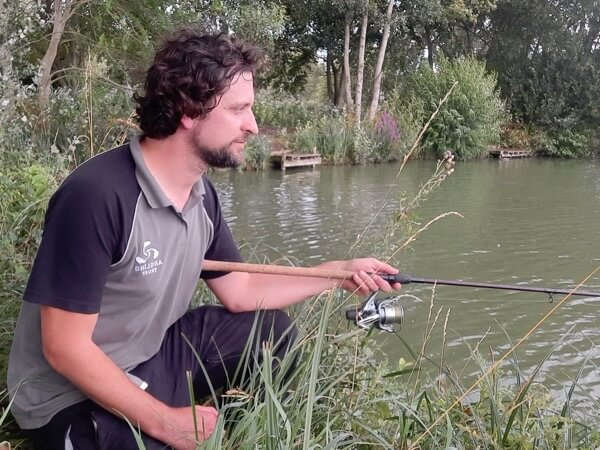 Dominic Garnett guided fishing Viaduct Fishery Somerset