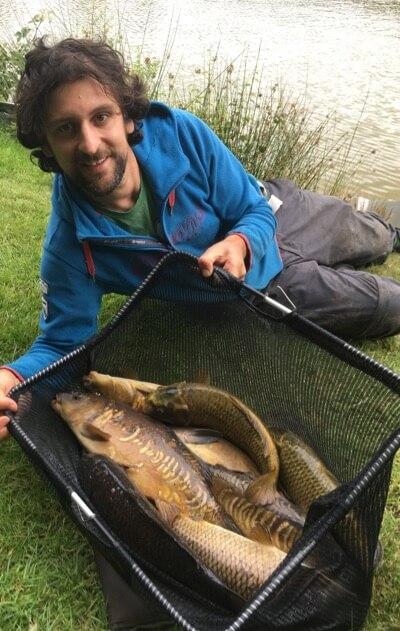 Match angling results Oaktree fishery Devon
