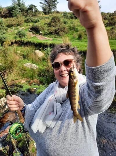 Dartmoor fly fishing licence