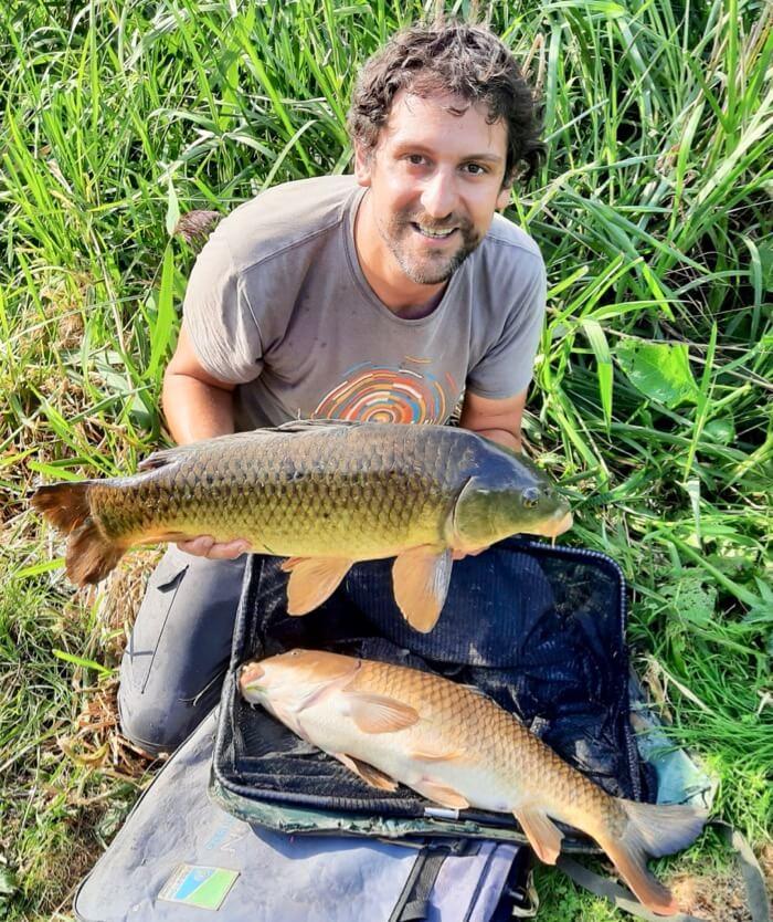 Match fishing Devon Lakeside