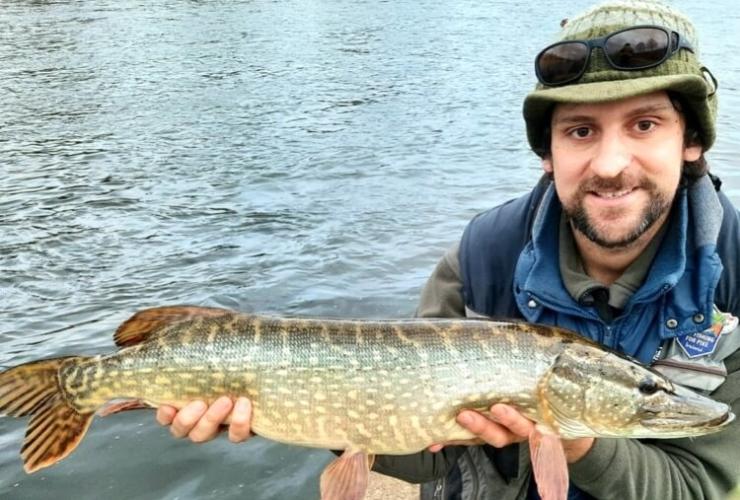 River Exe pike fishing