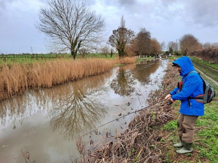 Taunton to Bridgwater Canal fishing