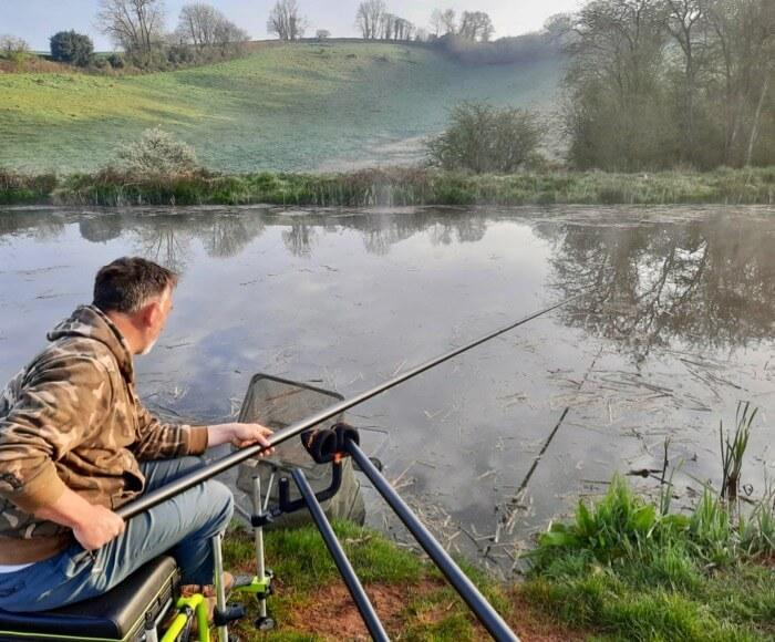 coarse fishing lessons Devon Somerset