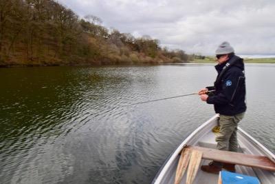 fly fishing wimbleball lake