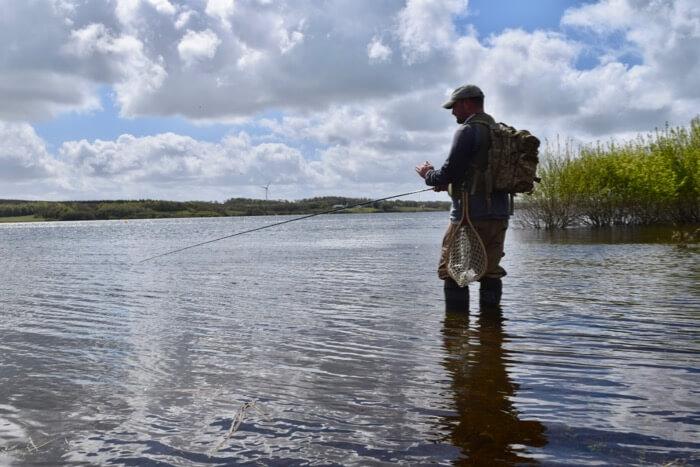 Roadford Lake fly fishing