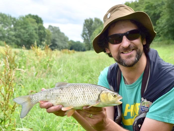 chub fly fishing Turrall Dom garnett