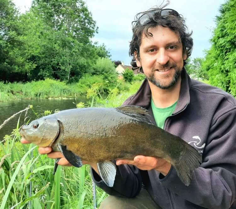 Tench fishing devon tiverton canal