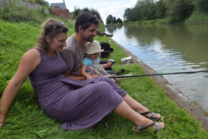 Tiddler Fest fishing Kennet and Avon Canal