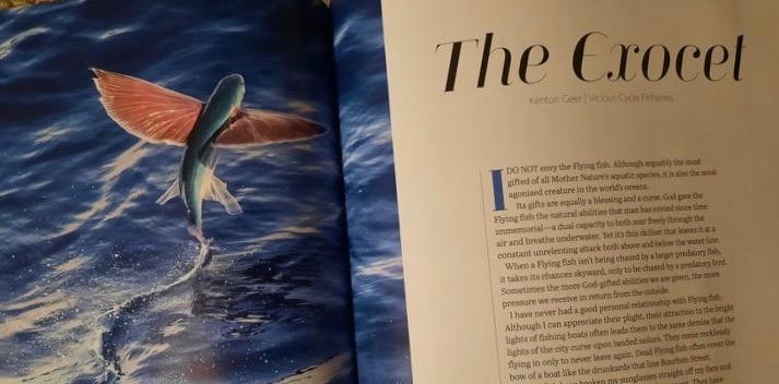 Fish quarterly magazine publication WH Smiths